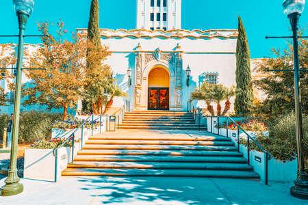 Beverly Hills City Hall, Los Angelos, California, USA.