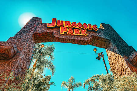 Los Angelos, California, USA - September 07, 2018: World famous park Universal Studios in Hollywood.