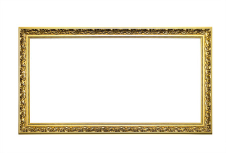 baroque picture frame: Golden Picture Frame