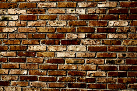 exterior wall: Old grunge brick wall background