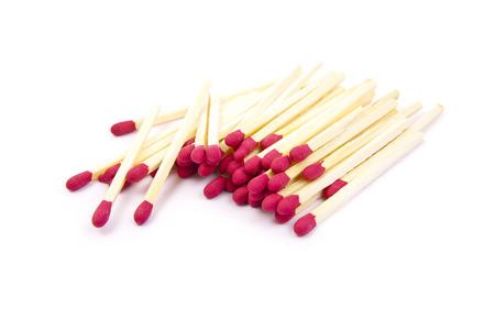 matchstick: matchstick on white