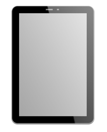 tablette: Schwarz Tablet
