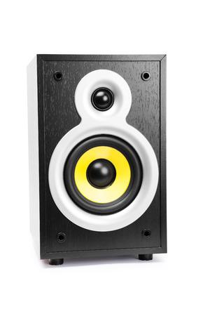 preamp: Speaker, isolated on white