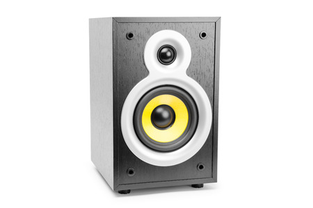 preamp: Speaker, isolated on white