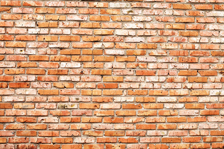 古いグランジ レンガ壁の背景 写真素材