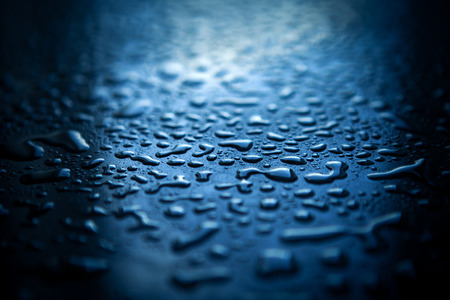 rain water: Water drops on abstract background
