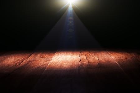 spotlight on wall: Dark background with spotlights