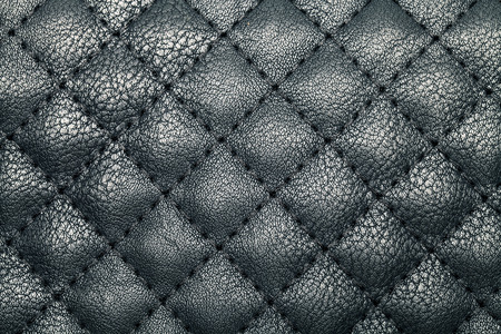 black leather texture: black Leather background and texture