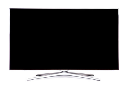 monitor isolated on a white background
