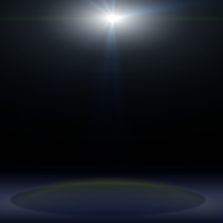 lighting background: concert lighting against a dark background ilustration Stock Photo