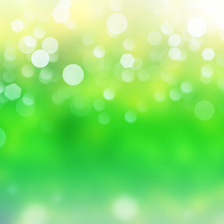 background pattern: Lights on green background.