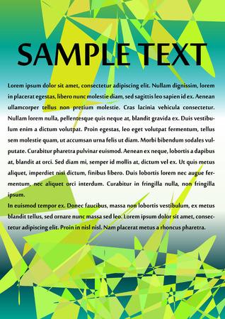 Abstract Brochure Design