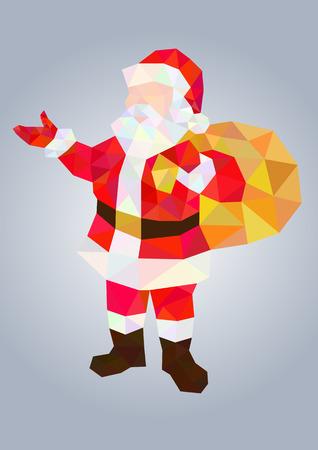 Santa Claus Mosaic