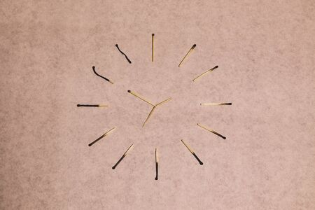 matches and time