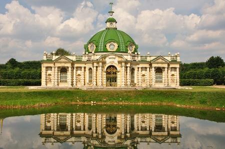 kuskovo: Palace in a museum of Kuskovo. Moscow. Russia.
