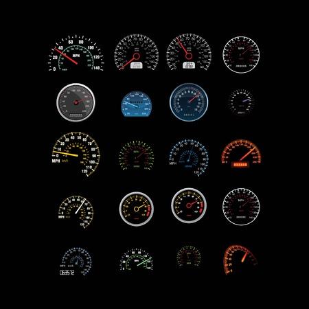 set of speed logo