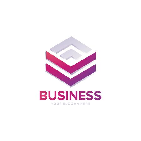 business and building logo design vector