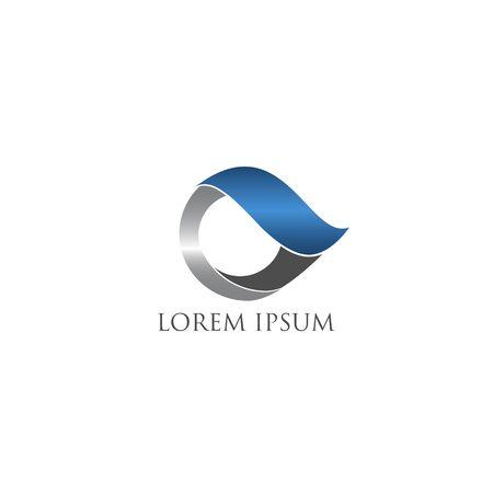 abstract business industry logo design vector Иллюстрация
