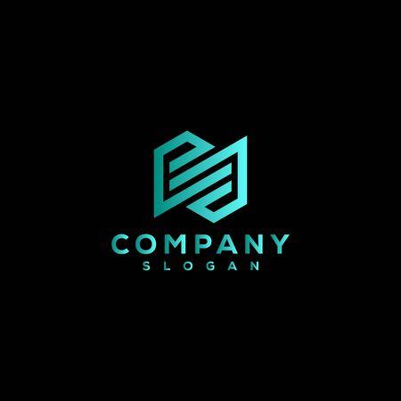 business and company logo design vector Иллюстрация