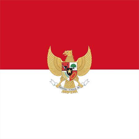 indonesia logo design vector
