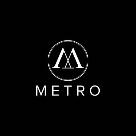 M letter logo design vector Иллюстрация