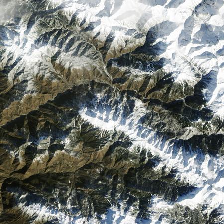 Skiing Sochi. This image furnished by NASA