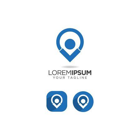people location design vector template