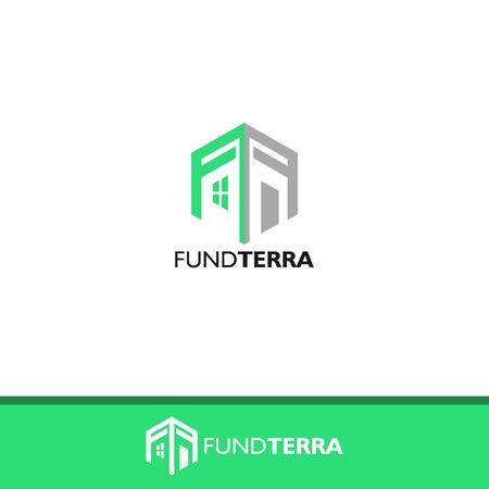 business FF letter design vector template