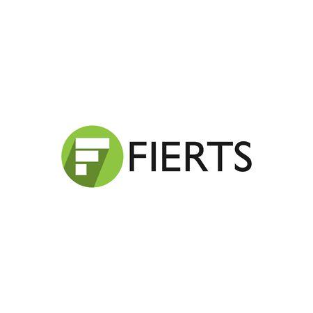 business F letter  design vector template