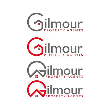 business G home design vector template Stock Vector - 139986423