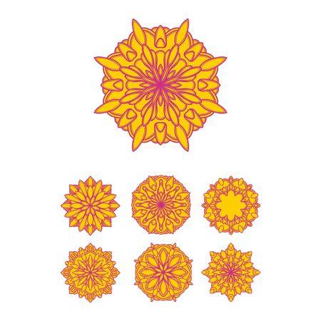 abstractcircle luxury mandala design vector template Stock Vector - 139986008