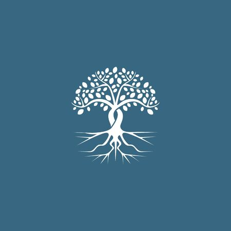 root tree business design vector template Illustration