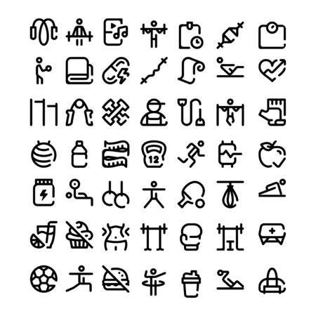 set of business technology icon symbol design vector Stock Vector - 142797563