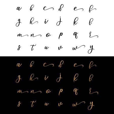 letter fashion business design vector template