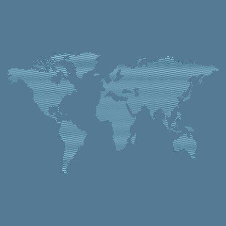world map business design vector template