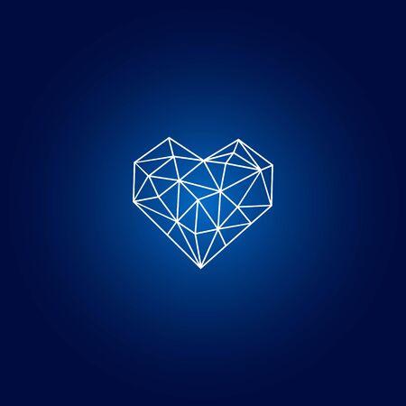 abstract business design vector template element diamond Illustration