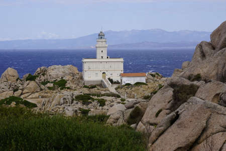 Capo Tesla Lighthouse is an active lighthouse located on promontory which is the nothernmost point in Sardinia.