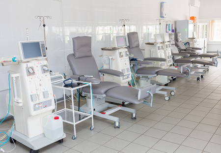 dialysis system Stock Photo