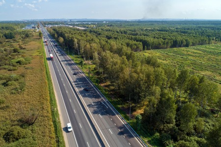 intercity highway the view from the top the Summer season