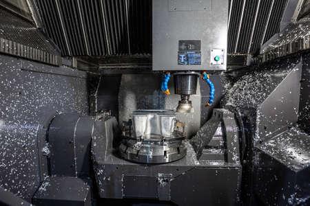 Liquid-cooled cnc milling Machine Sharpens High-complexity aluminum parts