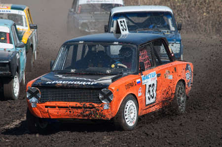 Car Race for survival on the Bizon Track Show 2016