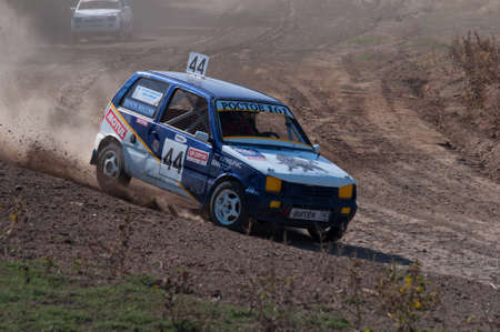 self testing: Races on rough terrain, take place annually at the former testing ground Don-25, Rostov-on-Don, Russia, At different times, cars, motorcycles, self-made Buggies and tractors compete.Racing with an open entrance, free. Shooting is also free. Without rest Editorial