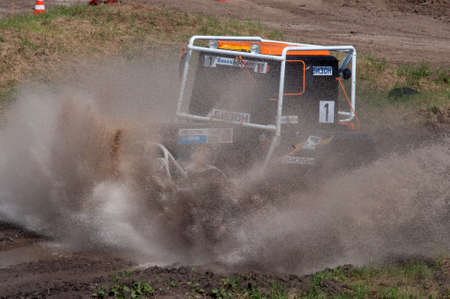 Races on rough terrain, take place annually at the former testing ground Don-25, Rostov-on-Don, Russia, At different times, cars, motorcycles, self-made Buggies and tractors compete.Racing with an open entrance, free. Shooting is also free. Without rest Редакционное
