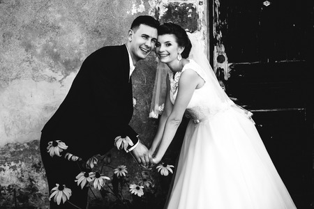 smilling: The smilling brides Stock Photo