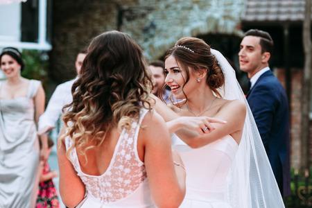 Special guest wedding dress