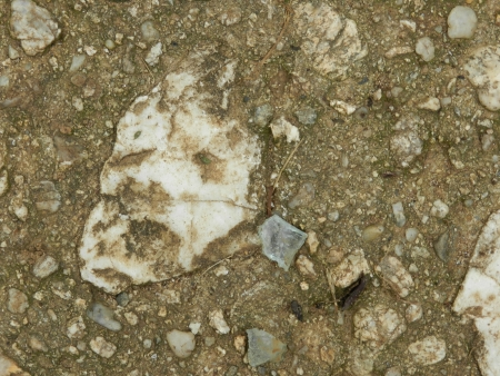 mistery: Pompeian Death Mask in Marble Pebble