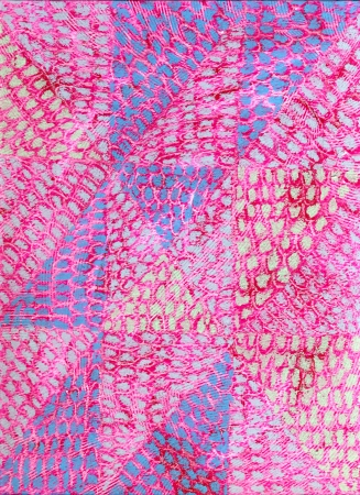 cerulean: Handmade Pink Mauve and Cerulean Abstract Background Stock Photo