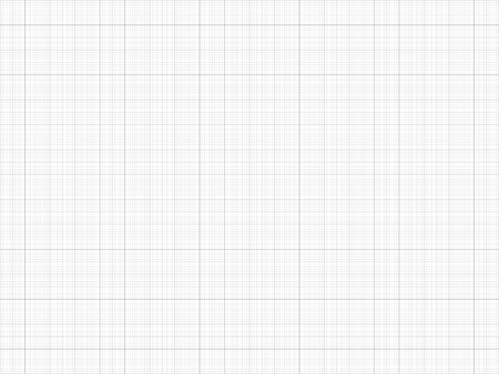 Graph Paper. Seamless pattern. Vector Grid Template. Real size