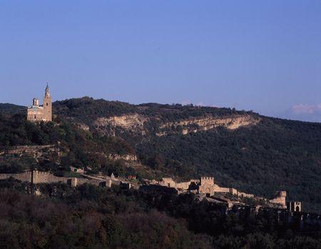 veliko: Castle Tzarevetz in Veliko Tarnovo,Bulgaria Stock Photo