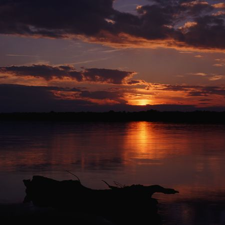 Beautiful Sunset Stock Photo - 4314433